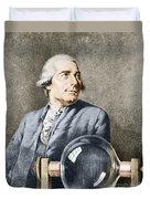 Joseph-michel Montgolfier, French Duvet Cover