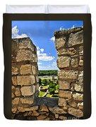 Kalemegdan Fortress In Belgrade Duvet Cover