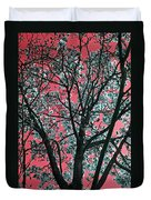 Kimono Pink Duvet Cover