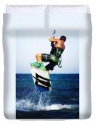 Kitesurfer Duvet Cover