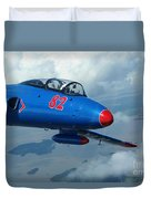 L-29 Delfin Standard Jet Trainer Duvet Cover