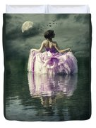 Lady In The Lake Duvet Cover