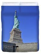 Lady Liberty 12 Duvet Cover