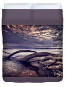 Lake Neatahwanta Duvet Cover by Everet Regal