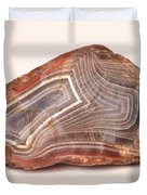 Lake Superior Agate Duvet Cover