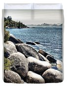Lake Tahoe Vista Duvet Cover