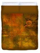 Landscape Of Mars Duvet Cover