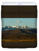 Landscape Of The Highlands And The Cordillera Real. Republic Of Bolivia. Duvet Cover