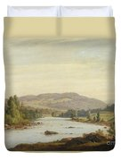 Landscape With River Duvet Cover