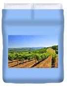 Landscape With Vineyard Duvet Cover