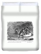 Last Of The Mohicans, 1872 Duvet Cover