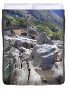 Lavertezzo - Ticino Duvet Cover