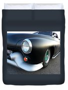 Lean Mean Racing Machine Duvet Cover by Sarah Lamoureux