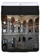 Library Of Congress - Washington D C Duvet Cover