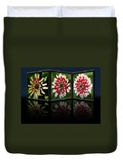 Life Of A Zinnia Duvet Cover
