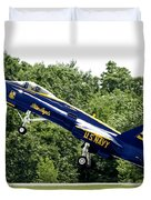 Lift Off Duvet Cover by Greg Fortier