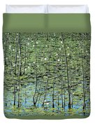 Lilly Pond Duvet Cover by John Greim