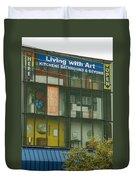 Living With Art Duvet Cover