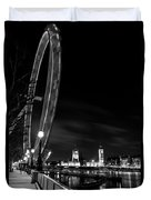 London Eye And London View Duvet Cover