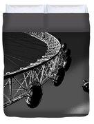 London Eye Digital Image Duvet Cover