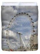 London Skyline Edf Eye  Duvet Cover