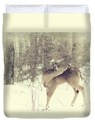 Looking Back Duvet Cover