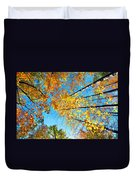 Looking Up At All The Colors Duvet Cover