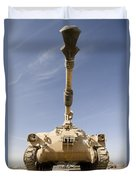 M109 Paladin, A Self-propelled 155mm Duvet Cover