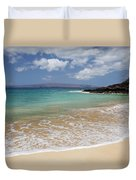 Makena Ocean And Sand Duvet Cover