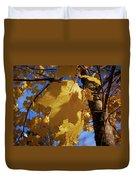 Maple In Fall Duvet Cover