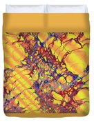 Marbled Paper Duvet Cover