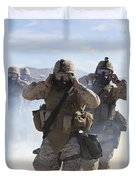Marines And Sailors Participate In An Duvet Cover