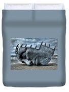 Maritime Memorial Cardiff Bay Duvet Cover