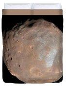 Mars Moon Phobos Duvet Cover