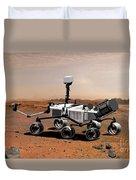 Mars Science Laboratory Duvet Cover