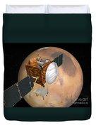 Mars Telecommunications Orbiter Duvet Cover