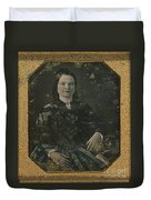 Mary Todd Lincoln, First Lady Duvet Cover by Photo Researchers