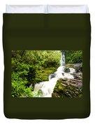 Mclean Falls In The Catlins Duvet Cover