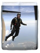 Member Of The U.s. Army Golden Knights Duvet Cover