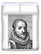 Michel Eyquem De Montaigne Duvet Cover