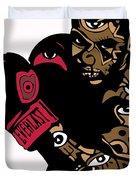 Mike Tyson Full Color Duvet Cover