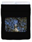 Minaret Through Oak Duvet Cover