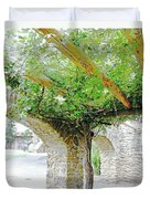 Mission San Jose San Antonio Texas Duvet Cover