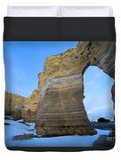 Monument Rocks Arch Duvet Cover
