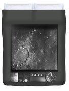 Moon: Ranger 7, 1964 Duvet Cover