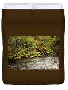Mossy Riverbank Duvet Cover