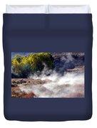 Mountain Hot Springs Duvet Cover