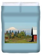 Mt. Adams In The Country Duvet Cover