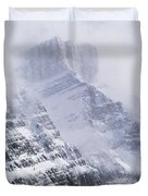 Mt. Chephren, Banff National Park Duvet Cover