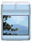 Mt. Etna Duvet Cover